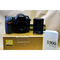 Nikon D300 - Corpo - Somente Com 4.000 Clicks - Abaixei
