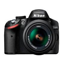 Câmera Digital Nikon D3200 Lente 18-55mm