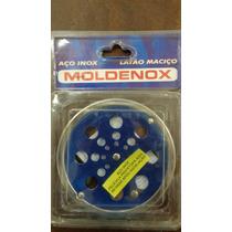Grelha Rotativ Redonda 9.5 Cm C/ Caixilho Polida Moldenox