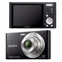 Camara Sony Cybershot 14.1 Mega Pixes Cartão De 8gb C/ Capa