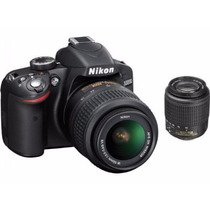 Nikon D3200.+ Lentes 18-55mm E 55-300mm
