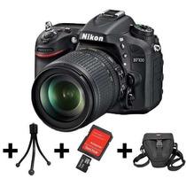 Câmera Nikon D7100 Kit 18-105 + Cartão 64gb + Bolsa + Tripé
