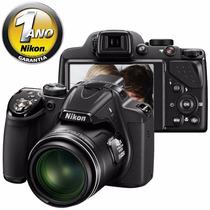 Câmera Nikon Coolpix P530 Semi-profissional 42x Full Hd 16mp