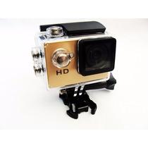 Mini Câmera Filmadora Sports Hd Prova Dágua Aventuras Trilha