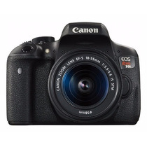 Camera Canon Eos Rebel T6i Dslr Ef-s 18-55mm + 32gb Classe10