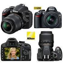 Câmera Digital Nikon D3200 Lente 18-55mm+50mm