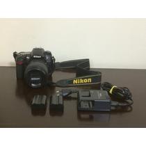 Camera Digital Nikon D7000 + Lente 18-105mm + 2 Baterias