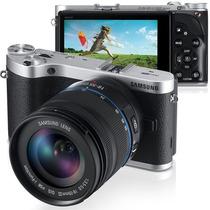 Câmera Digital Samsung Smart Nx300, Touch Screen, Wi-fi