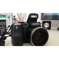 Câmera Digital Fuji Finepix S2950 14mp C/ 18x Zoom Óptico