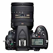Câmera Nikon D7100 24.1mp - Lente 18-105mm Nova Na Caixa