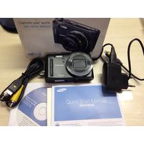Máquina Fotográfica Samsung Wb 550 + Cartão De Memoria