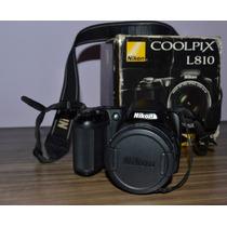 Câmera Digital Nikon Coolpix L810 16.1 Megapixels