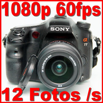 Camera Sony A77 + 18-55mm 12fps Fullhd 60fps Com Nota Fiscal