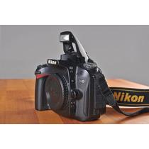 Nikon D-90 Com Objetiva 18-55 Afs + Cartao De 8gb