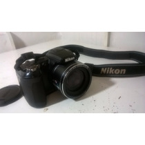 Câmera Nikon - 21x - Coolpix L120 - Vídeo Em Hd - 14mp