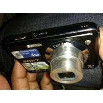 Câmera Sony Cyber-shot Dsc-w215 12mpx + Cartão 4 Gb