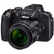 Nikon P610 60x Vr, 16.mp Gps+wifi+32gb+bolsa, Tripé E Nf.
