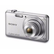 Câmera Digital Sony Cyber-shot Dsc-w710 Prata Com 16.1 Mp