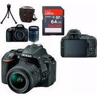 Câmera Nikon D5500+18-55+bolsa+64gb C/10+tripé+kit Limpeza!!