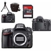 Camera Nikon D610 Corpo + 64gb Class10 + Bolsa + Tripe + Nf