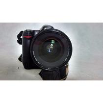 Nikon D80 Com Grip E 2 Baterias + Lente 24-70mm F2.8