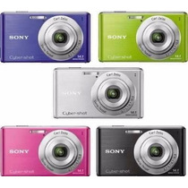 Camera Digital Sony W350 14.1mp Lcd 4 X + 2 Zoom Digital