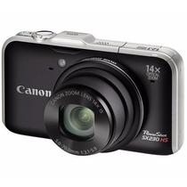 Câmera Semiprofissional Canon Powershot Sx230 Hs