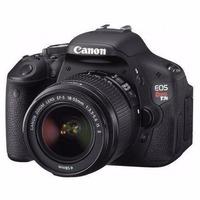 Canon T3i 18-55+bolsa+32gb C 10+tripé F/ Grátis 12x S/ Juros