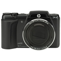 Câmera Digital Semiprofissional Hp P650 16.1 Mp Zoom 24x
