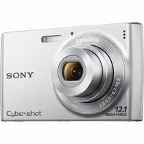 Câmera Digital Cyber-shot Dsc-w510 - Prata + Cartão Memoria
