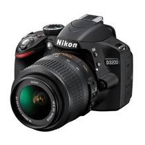 Câmera Nikon D3200 18-55 Cartão 16gb Classe 10 Bolsa Tripé G