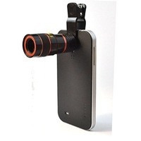 Lente Luneta Telescópica Zoom 8x Universal Iphone Galaxy Etc