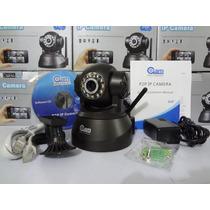 Câmera Ip Wireless C/ Visão Noturna E Controle De Movimento