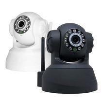 Câmera Vigilância Ip Wireless Monit. Via Internet Celular