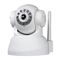 Camera Ip Infra Wireless P2p Controle Celular C/micro Sd+nf
