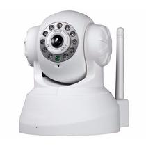 Camera Ip Infra Wireless P2p Controle Celular C/micro Sd