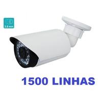 Câmera De Segurança Ir-cut Dia/noite36 Led 1500 Linhas Top