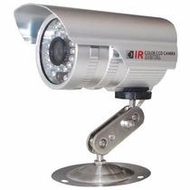 Camera Ccd Infra Vermelho 36 Leds 30mts Prova D´agua 700l