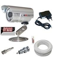 Camera De Vigilancia Direto Na Tv + Cabo + Conector + Fonte