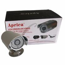 Câmera De Segurança Infra Cftv Ccd Sony 1/3 1000 Linhas