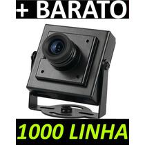Mini Câmera Ccd Sony 2.5mm 1000 Linhas 1/3 12v - C1811