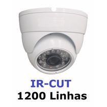 Camera Dome Infra Visao Noturna 1200 Linhas Ir-cut + Fonte