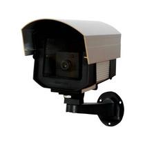 10 Câmeras Falsa Anodizada Com Led Micro Baby