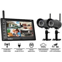 Kit De Monitoramento S/ Fio Intelbras Ehm 606 - Duas Câmeras