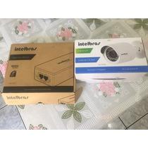 Camera Ip Intelbras Vip S3120+ Adaptador Poe Melhor Preco