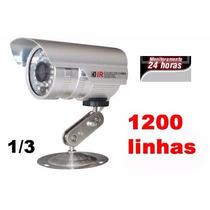 Cameras De Segurança Profissional Ccd Infravermelho 48 Leds