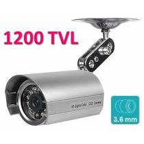 Câmera 1200 Linhas Profissional Infravermelho 1/3 + Fonte
