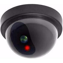Micro Camera Falsa Com Led P/ Segurança Residencial