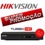 Dvr Turbo Hd-tvi 8 Canais Hikvision Grava Em Full Hd 1080p