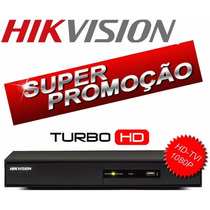 Dvr Turbo Hd-tvi 16 Canais Hikvision Grava Em Full Hd 1080p